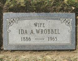 Ida A. <i>Bischoff</i> Wrobbel