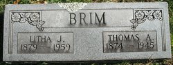 Litha aka Telitha Jane <i>Stringer</i> Brim
