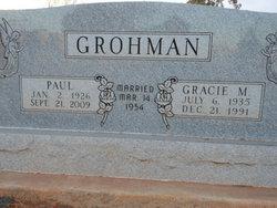 Gracie M. Grohman