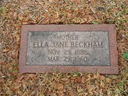 Ella Jane <i>Jimerson</i> Beckham