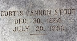 Curtis Cannon Stout