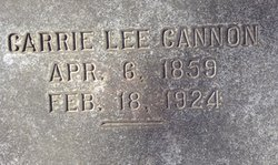 Carrie Lee Cannon