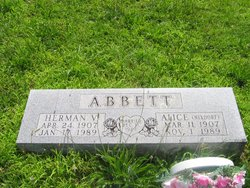 Herman V Abbett