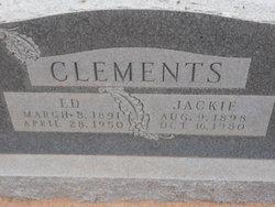 Zola Jackie <i>Lee</i> Clements