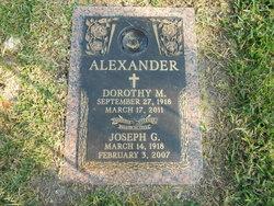 Dorothy Dot <i>Ashford</i> Alexander