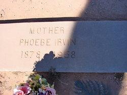 Phoebe <i>King</i> Irvin