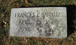 Frances Lawrence <i>Pendleton</i> Barnitz
