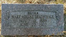 Mary Adeline <i>McClure</i> Deatherage