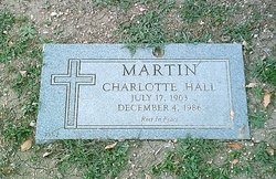 Charlotte <i>Hall</i> Martin