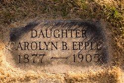 Carolyn B Carrie Eppley