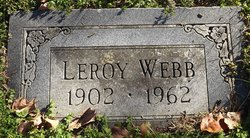 Leroy Webb, Sr