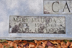Mary Matilda <i>Savage</i> Carter