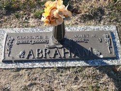 Clarence E Abraham