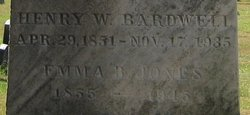 Emma B <i>Jones</i> Bardwell