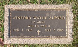 Winford Wayne Alford