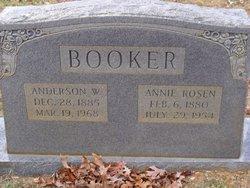 Annie <i>Rosen</i> Booker