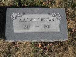 Albert Abijah Bert Brown