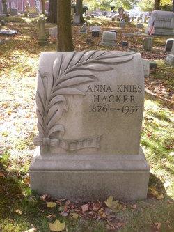 Anna <i>Knies</i> Hacker