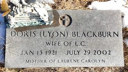 Doris <i>Lyon</i> Blackburn
