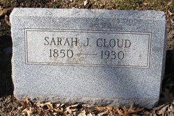Sarah J. <i>Kelly</i> Cloud