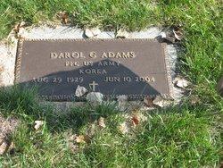 PFC Darol Gail Red Adams