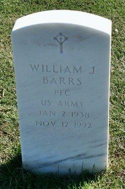 William James Barrs