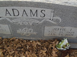 Jeffie <i>Bynum</i> Adams
