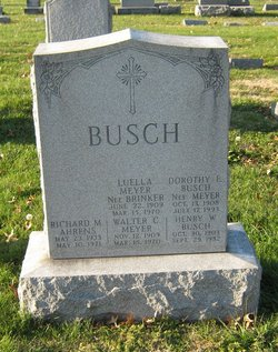 Dorothy E <i>Meyer</i> Busch