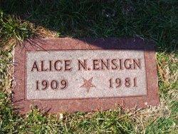 Alice N Ensign