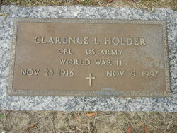 Clarence Louis Holder