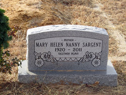 Helen <i>Geddes Nanny</i> Sargent