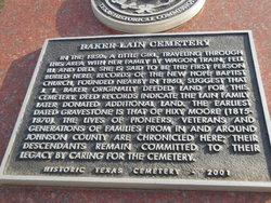 Baker Lain Cemetery