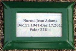 Norma Jeane <i>Lynam</i> Adams