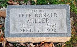 Pete Donald Miller