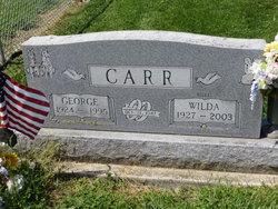 Wilda Mae Billie <i>Sheets</i> Carr