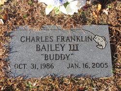 Charles Franklin Buddy Bailey, III