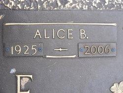 Alice Elizabeth <i>Bedenbaugh</i> Elmore