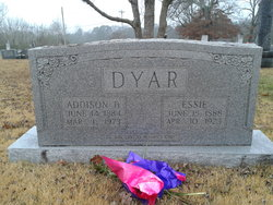 Addison B Dyar