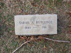 Sarah A Rutledge