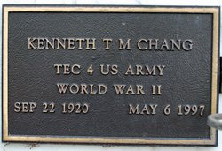 Kenneth T M Chang