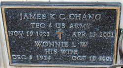 James K C Chang