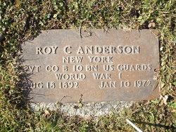 Roy C Anderson