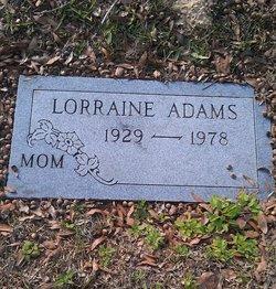 Lorraine Frances <i>Oudeans</i> Adams