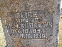 Alice <i>Mount</i> Andrews