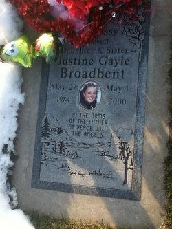 Justine Gayle Broadbent