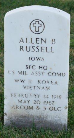 Allen B Russell