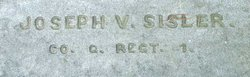 Pvt Joseph V. Sisler