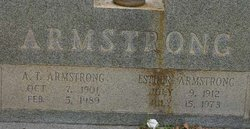 Mattie Esther <i>Ware</i> Armstrong