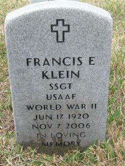 Francis E Klein