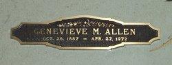 Genevieve M <i>Erskine</i> Allen